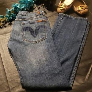 7 FAM Jean's. Size 30. Weekend SALE!🖤🖤🖤